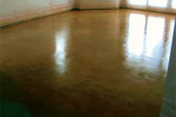 Acid Staining Concrete Installation Wisconsin Outagamie